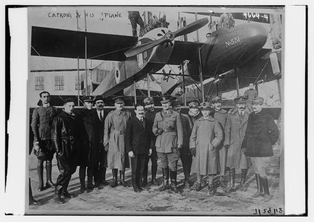 Caproni & his plane