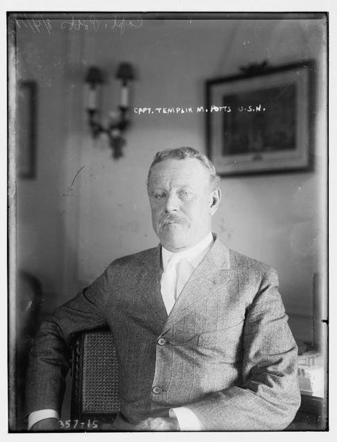 Capt. Templin M. Potts, U.S.N.