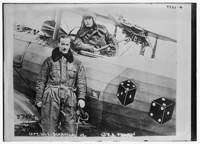Capt. W.C. Schauffler Jr. [& Lt. F.A. Tillman]