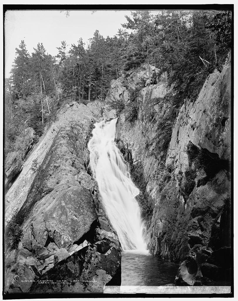Cascade near Lake Dunmore, Green Mountains