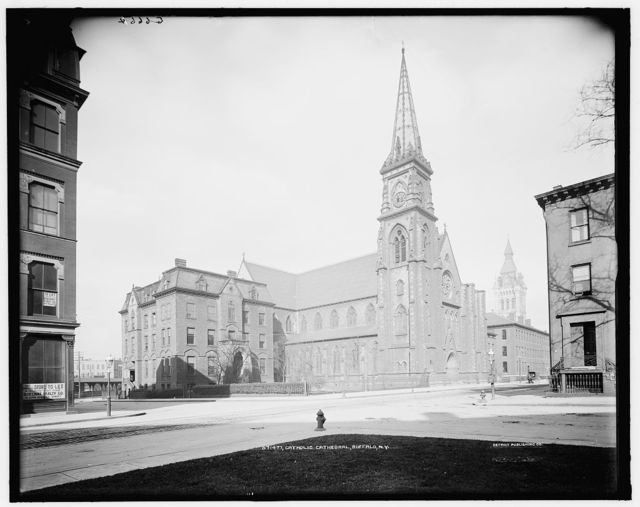 Catholic cathedral, Buffalo, N.Y.
