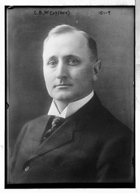 C.B. McCoy, Ohio, portrait bust