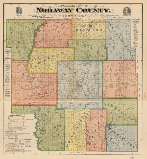 Centennial map of Nodaway County, Missouri /