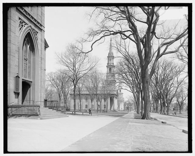 [Center Congregational Church on the Green, New Haven, Conn.]