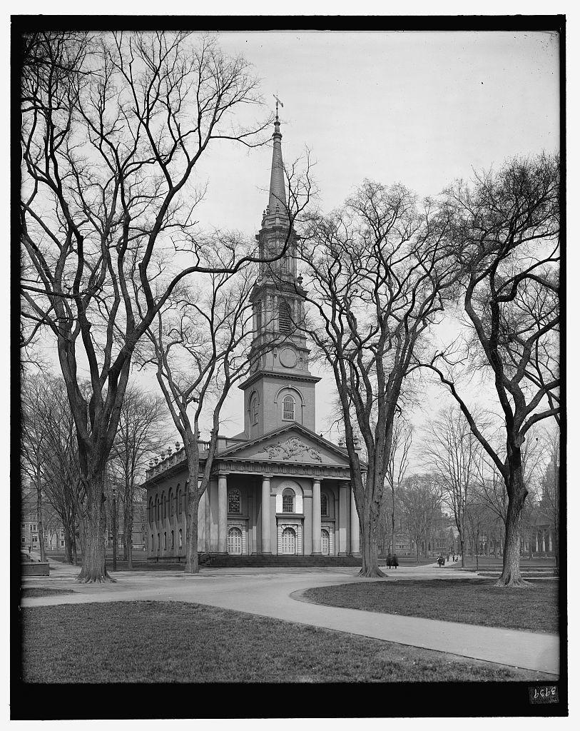 [Center Congregational Church, the Green, New Haven, Conn.]