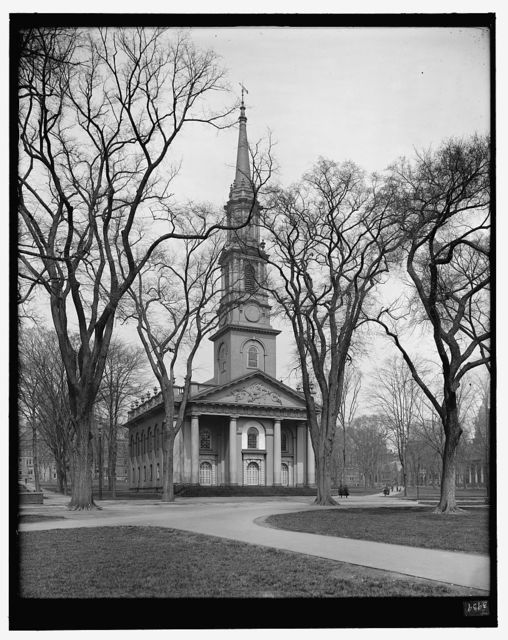 [Center Congregational Church, the Green, New Haven, Conn.]