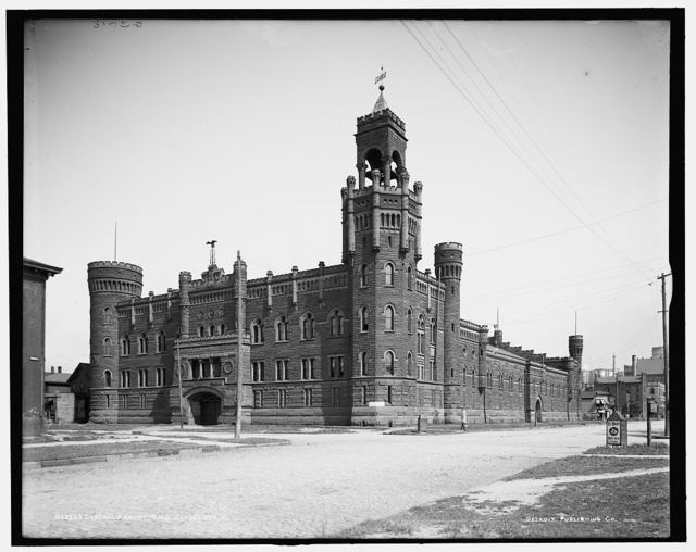 Central armory, O.N.G. [Ohio National Guard], Cleveland, Ohio