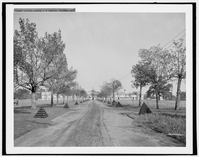 Central Avenue, U.S. Arsenal, Augusta, Ga.