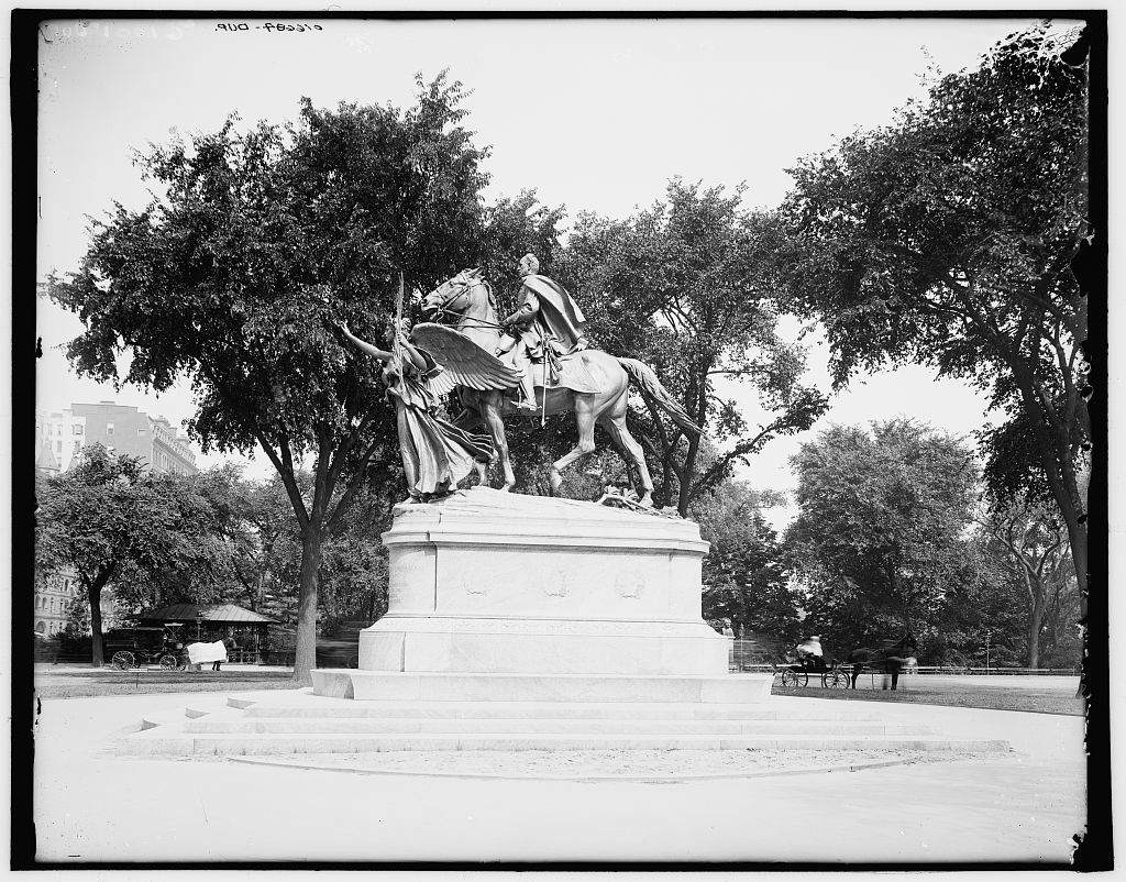 [Central Park, Wm. T. Sherman statue, New York, N.Y.]