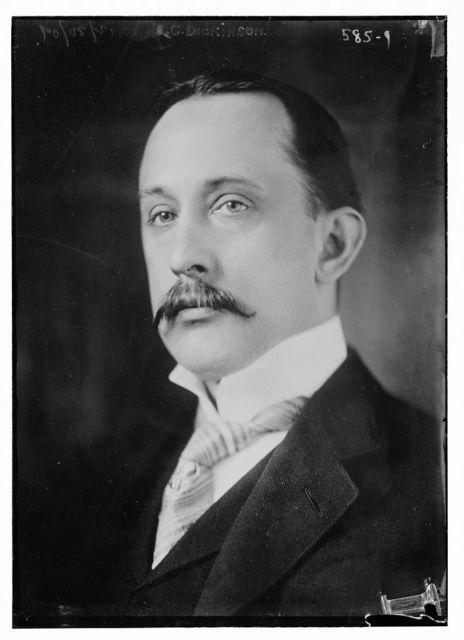 C.G. Dickinson, portrait bust