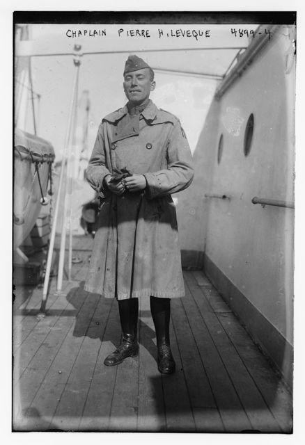 Chaplain Pierre H. Leveque