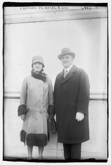 Chapman De Wolfe & wife