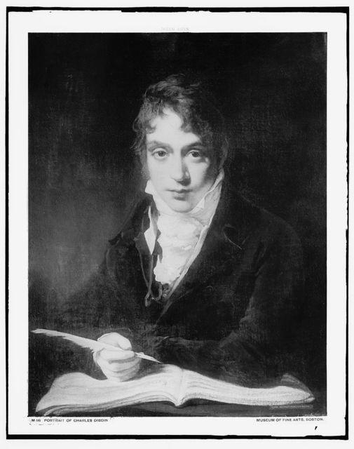 [Charles Dibdin, head and shoulders portrait]