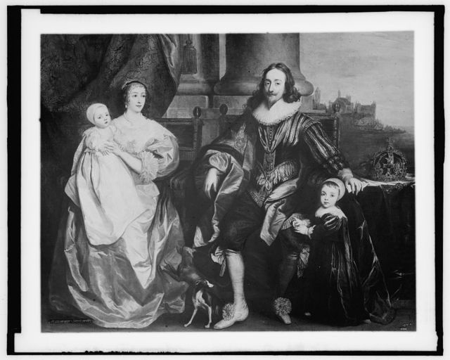 [Charles I and Henrietta Maria with their children, afterwards Charles II and James II]