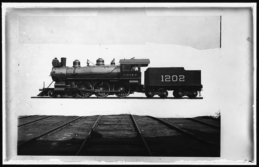 [Chicago, Rock Island, and Pacific Railway locomotive]