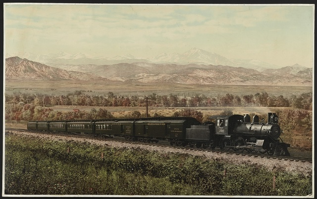 Chicago Special, Burlington Route, Colorado