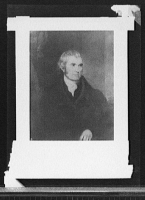 [Chief Justice John Marshall]