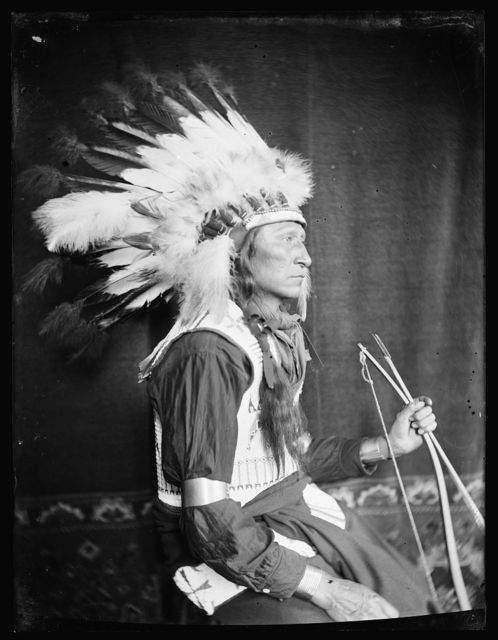 [Chief Lone Bear, a Sioux Indian from Buffalo Bill's Wild West Show]