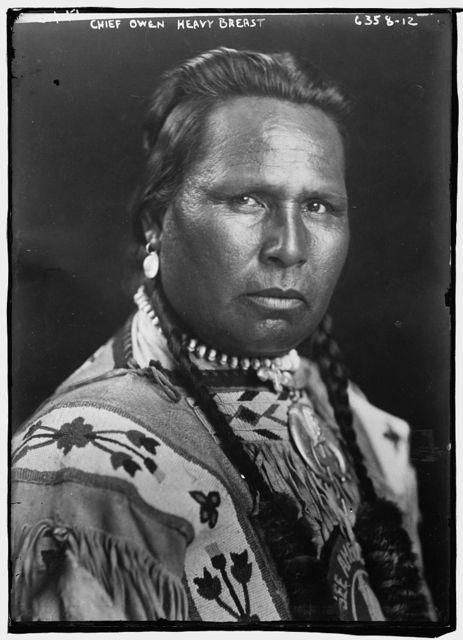 Chief Owen Heavy Breast (American Indian)