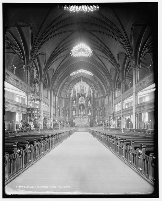 Church of Notre Dame, Montreal