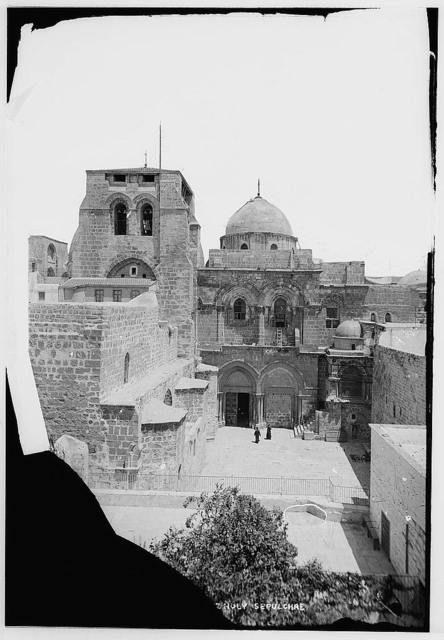 Church of the Holy Sepulchre and surroundings. Church of the Holy Sepulchre