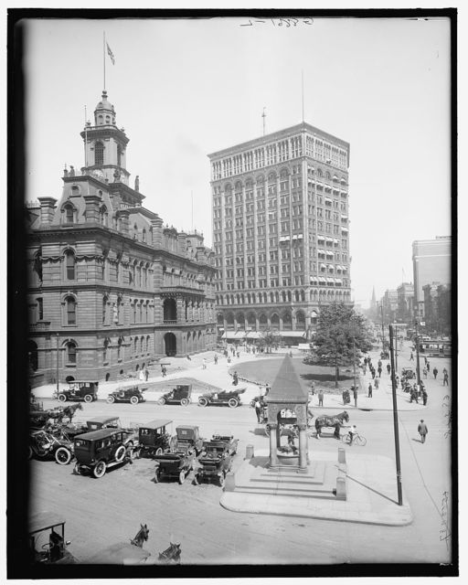 [City Hall and Majestic Building, Detroit, Mich.]