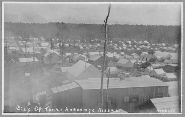 City of tent homes