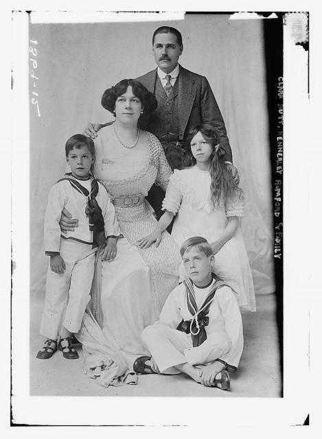 Clara Butt, Kennerly Rumford & family