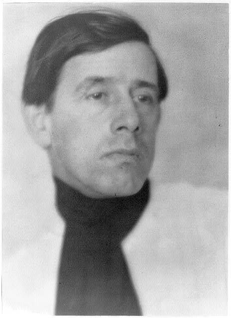 [Clarence H. White, head-and-shoulders portrait, facing slightly right, wearing scarf]