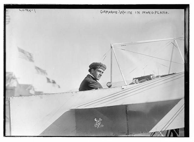 [Claude] Grahame-White in monoplane