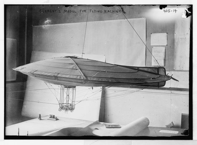 Clement's model for flying machine