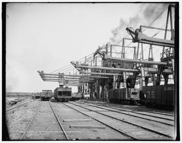 Cleveland & Pittsburgh ore docks, Cleveland