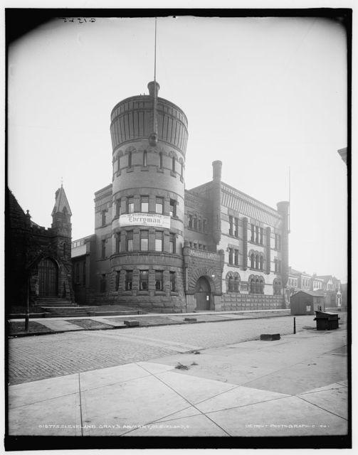 Cleveland Gray's Armory, Cleveland, O[hio]