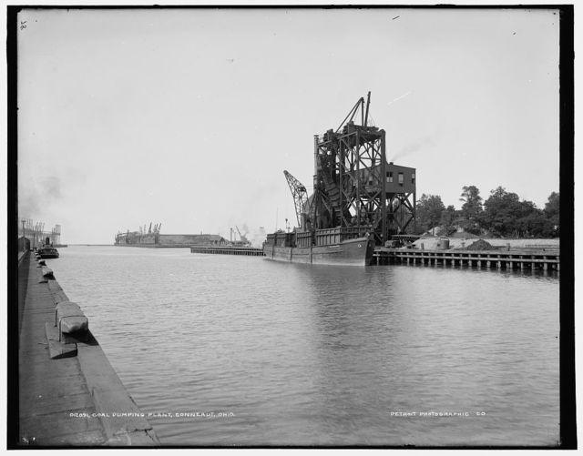 Coal dumping plant, Conneaut, Ohio