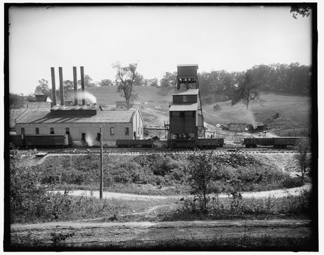 [Coal loading at plant, possibly Ford Collier]