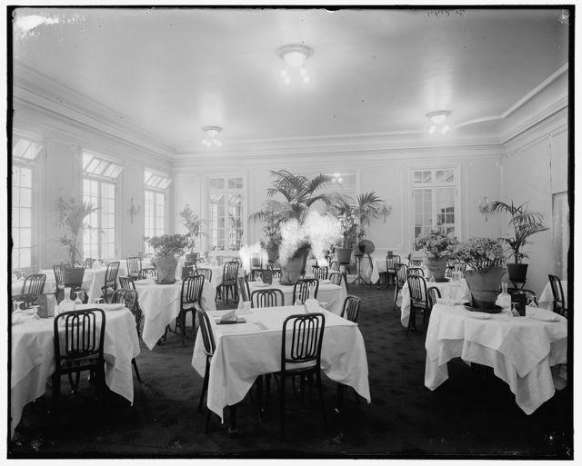 [Colonnade Hotel, the palm room, Philadelphia, Pa.]
