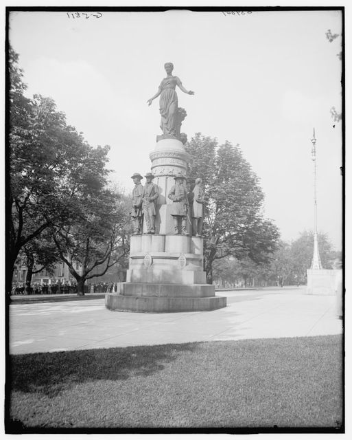 "[Columbus, Ohio, memorial in Capitol grounds : ""These are my jewels""]"
