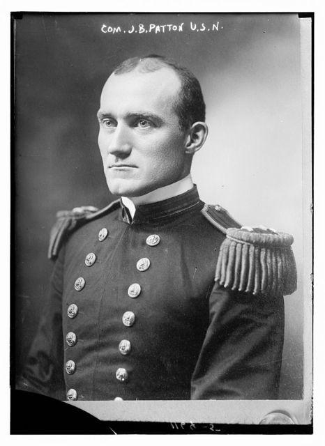 Com. J.B. Patton, USN