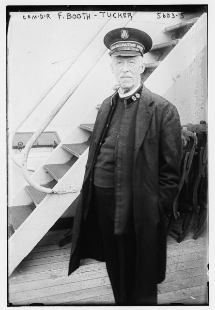 Comdr. F. Booth - Tucker