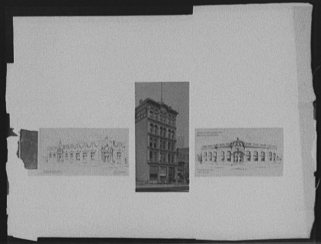 [Composite of Peninsular Savings Bank, Detroit, Michigan]