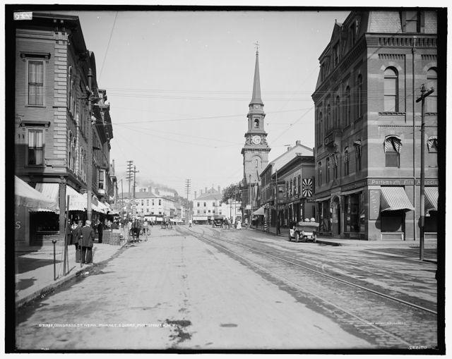 Congress St. [Street], near Market Square, Portsmouth, N.H.