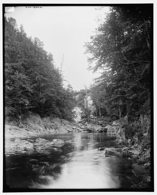 [Connecticut River Valley, Vt., in Brockway gorge]
