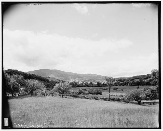 [Connecticut River Valley, Vt., toward Ludlow from the south]