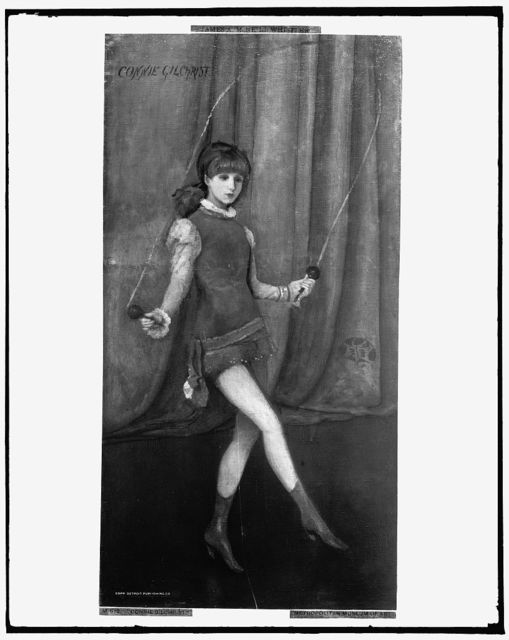 [Connie Gilchrist, full-length portrait]