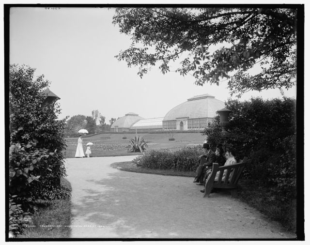 Conservatory, Washington Park, Chicago, Ill.
