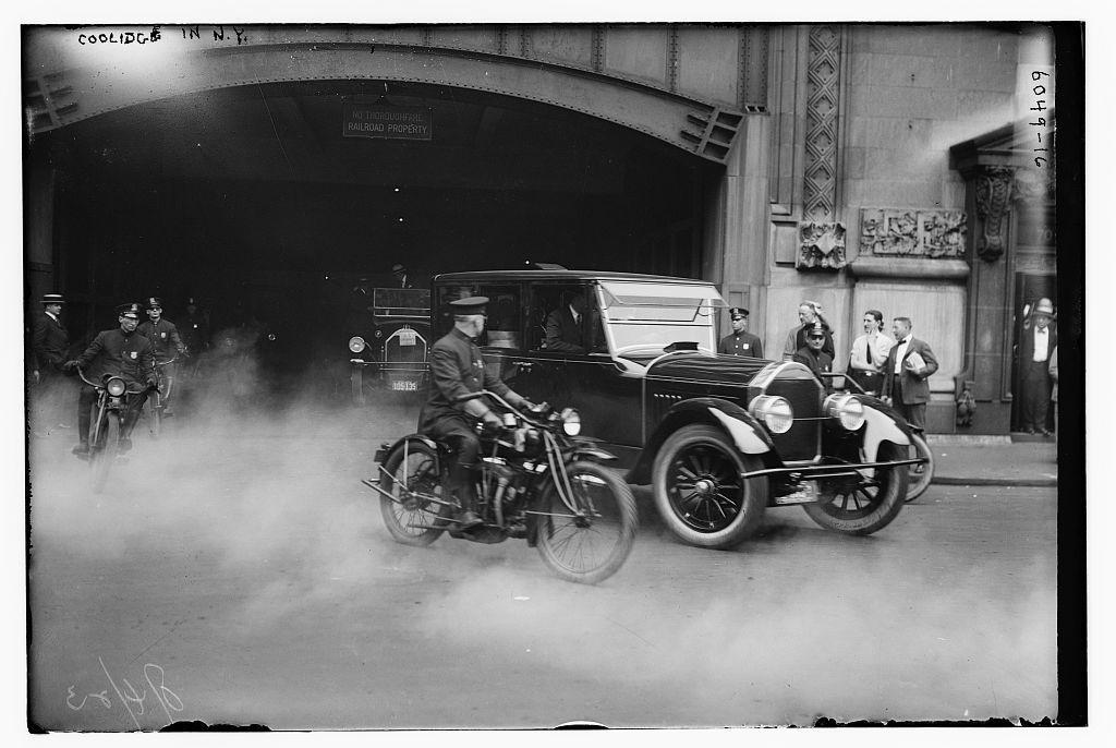 Coolidge in N.Y.