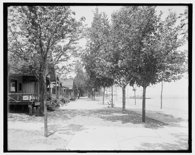 [Cottages at Huronia Beach, Port Huron, Mich.]