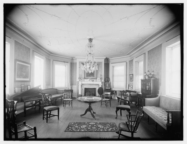 Council chamber, Washington's headquarters, Morris-Jumel Mansion