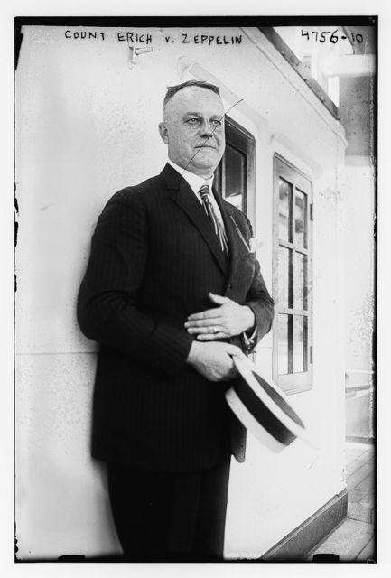 Count Erich v. Zeppelin