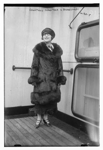 Countess Guenther Von Bernstorff